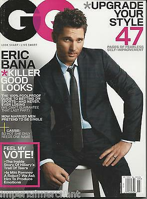 Gq Magazine Eric Bana Cassie Ventura Hillary Clinton Mitt Romney
