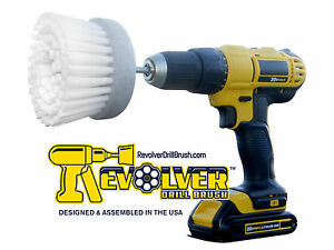 The-REVOLVER-POWER-SCRUB-DRILL-BRUSH-HOME-amp-BOAT-NEW-ACTUAL-MANUFACTURER