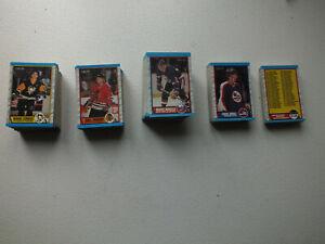 1989-90-OPC-O-Pee-Chee-Complete-Set-1-330-Sakic-RC