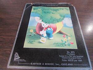 Vintage easter greeting card gartner bender inc sample no image is loading vintage easter greeting card gartner amp bender inc m4hsunfo