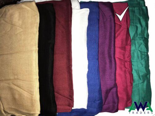 Women Scarf Plain Wrap Shawl Linen Scarf Head Wrap Shawl Stole Muffler Hijab
