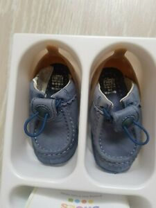Clarks baby boy first shoes, growing