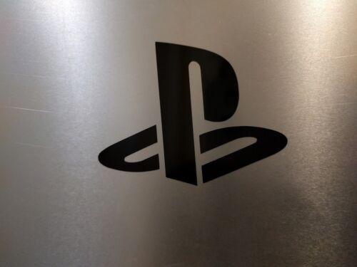 "4 Pack V2 Sony Playstation PS logo  Vinyl Decal Sticker Gloss Black 2/"" x 1 1//2/"""
