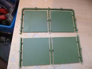 Renedra 4x Square Bases 50mm x 50mm plastic new