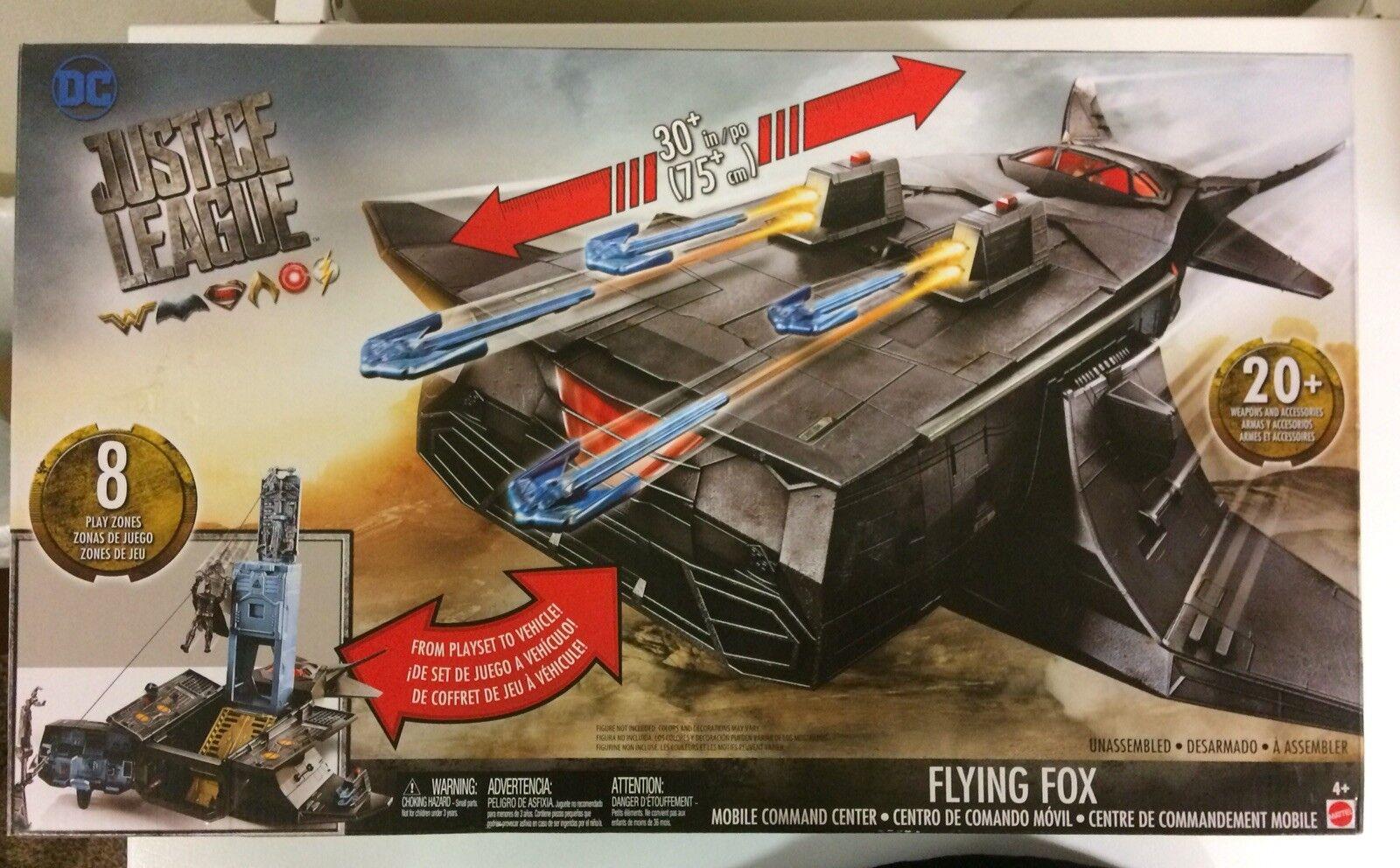 Mattel's DC Justice League League League Flying Fox Mobile Command Center - Vehicle   Playset c3c0a9