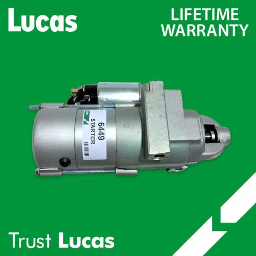 LUCAS STARTER 6449 FOR CHEVROLET BLAZER GMC OLDS 4.3L 5.7L 7.4L 350 454 9000899