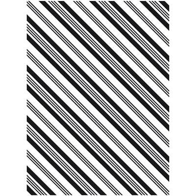 "Darice Embossing Folder MULTI LINES STRIPES 4.25/"" X 5.75/"" A2"