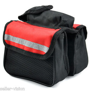 Cycling-Bike-Bicycle-Top-Frame-Pannier-Front-Tube-Double-Saddle-Bag-Mountain