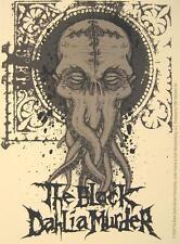 BLACK DAHLIA MURDER AUFKLEBER / STICKER # 1 - PVC WETTERFEST