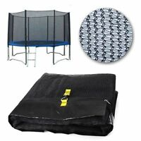 NEW 14FT REPLACEMENT TRAMPOLINE SAFETY NET ONLY ENCLOSURE SURROUND 8 POLES