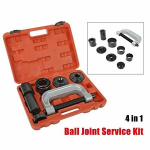 Heavy Duty Ball Joint Press & U Joint Removal Tool Kits with 4x4 Adapters