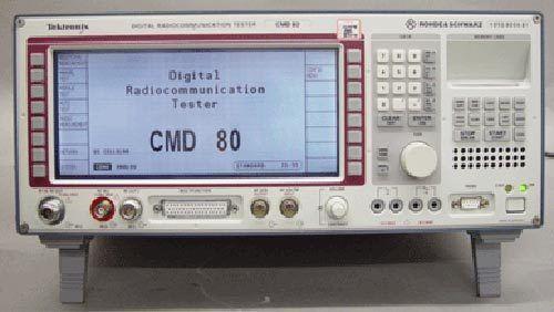 Tektronix/Rohde & Schwarz CMD 80 Digital Radio Test Set