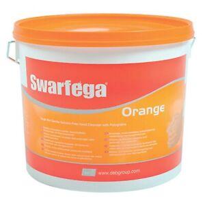 Swarfega Orange Heavy Duty Hand Cleanser - Solvent Free - 15 Litres 15L Tub