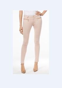 54bac435d464 MICHAEL Michael Kors Izzy Zip-Pocket Skinny Jeans! ROSE WATER! SIZE ...