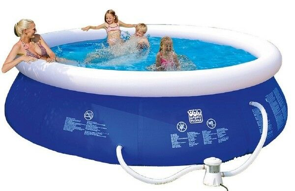 Happy People 77772 Quick up Pool ca. 360x76 cm m. m. m. Pumpe Swimmingpool 0c23cb