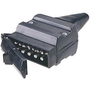 NARVA-TRAILER-CONNECTOR-12-pin-Flat-Plastic-Plug-82171BL