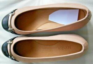 Jones-039-Twenty-Four-Seven-039-Ladies-Cap-Toe-Ballerina-Flats-Size-39-UK-6