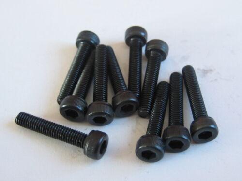 10x Stahl Zylinderkopf-Schraube M3x14 DIN912 12.9 Zylinder-Schrauben