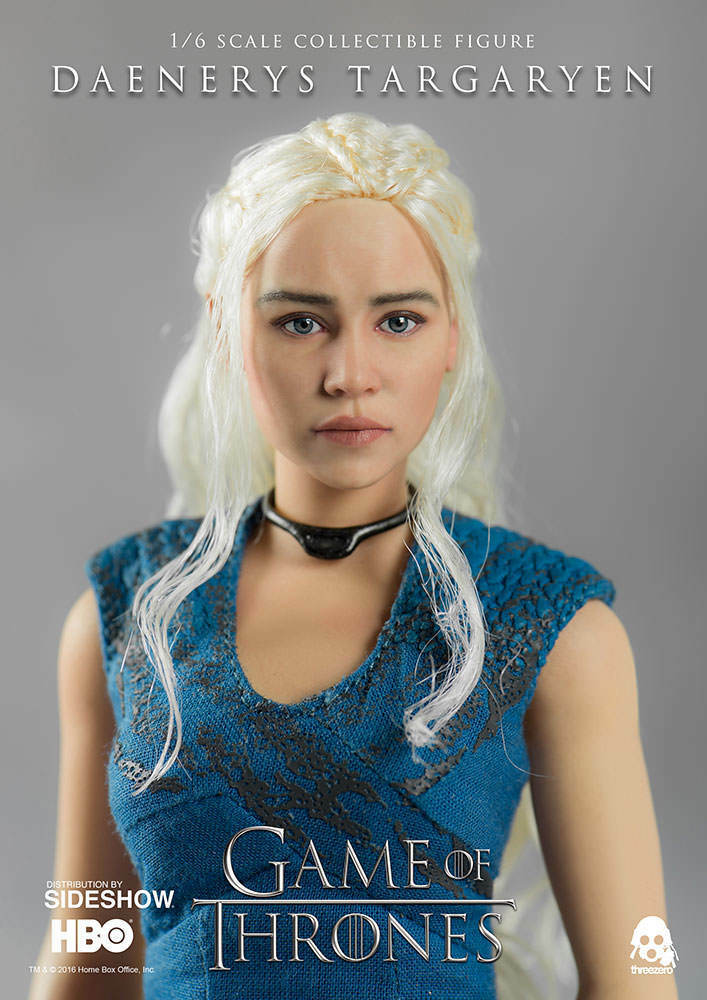 ThreeZero - Game of Thrones - Emilia Clarke as Daenerys Targaryen 12