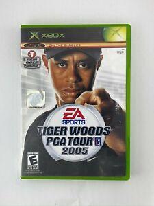 Tiger-Woods-PGA-Tour-2005-Original-Xbox-Game-Tested