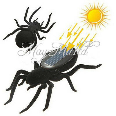 Educational Solar Energy Powered Spider Robot Toy Gadget For Kids J