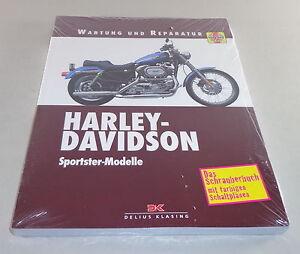 Istruzioni-di-riparazione-Harley-Davidson-Sportster-modelli-da-1972-2003