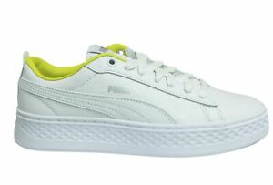 Low Lace Up Womens Trainers 369133 02