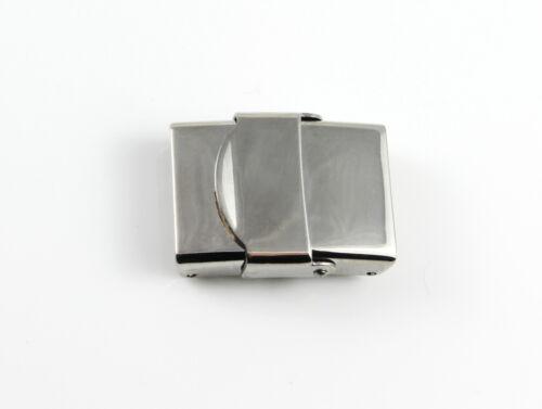 armband herstellen Edelstahl Verschluss ID 16 x 3,5 mm poliert