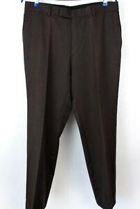 HUGO-BOSS-Men-Wool-Classic-Formal-Trousers-Pants-Size-W38-L34-MZ484