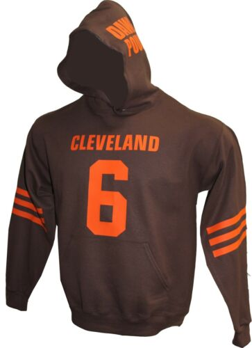 Any name number,Baker Mayfield,Tshirt,Jersey MENS Customized BROWN Hoodie
