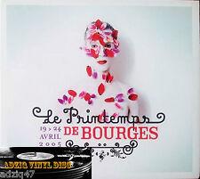 CD  Le Printemps De Bourges 2005 Du 19 Au 24 Avril  DIGIPACK CD PROMO