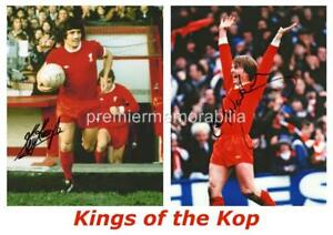 LIVERPOOL FC LEGENDS OF THE KOP KEVIN KEEGAN & KENNY DALGLISH SIGNED (PRINTED)