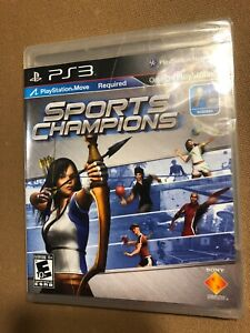 Sports-Champions-PS3-Children-039-s-Multi-Player-Game-NEW-Sealed