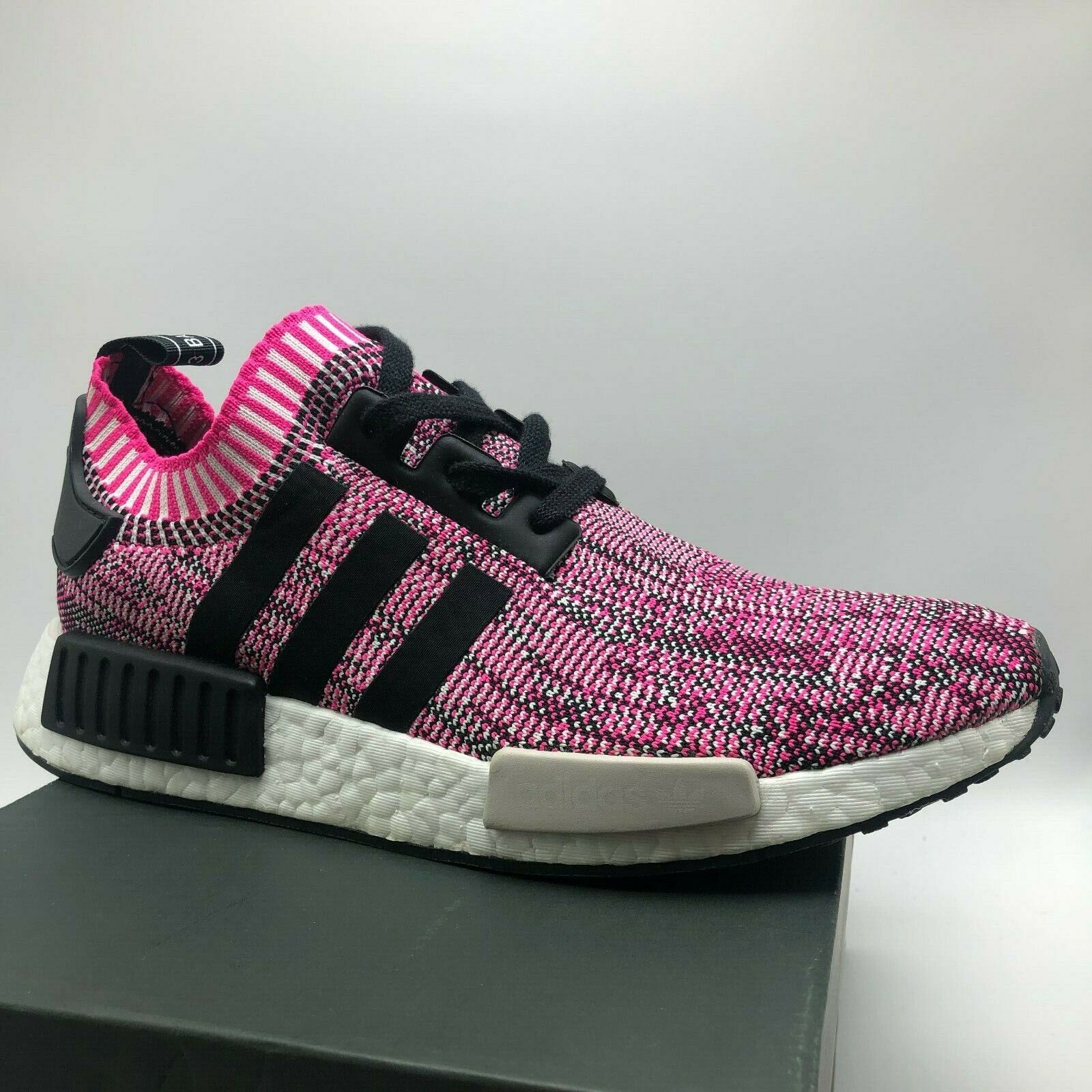 Adidas Nmd R1 Pk Womens Bb2363 Fuchsia Pink Primeknit Running