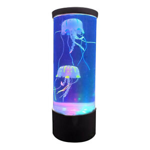 Farbwechsel Quallen Aquarium Led Lampe Stimmung Nacht Licht für Schlafzimmer