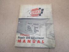1954 1955 Lincoln Capri Cosmopolitan Shop Service Repair Manual