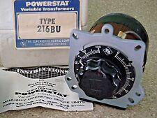 Superior Electric 216bu Powerstat Variable Transformer 240v 1 Phase 35a Nos