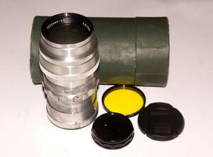 RARE-PRE-SERIE-USSR-LENS-TELEMAR-22-200-mm-f5-6-M42-Screw-GOOD-SN-000481