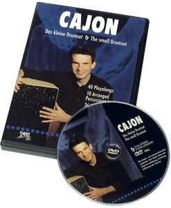 Schlagwerk-DVD-14-CAJON-Das-kleine-Drumset-Matthias-Philipzen-deutsch-englisch