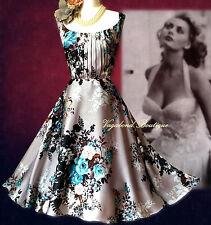 Fabulous&Utterly Feminine MONSOON 50s Babe: floral occasion dress 16