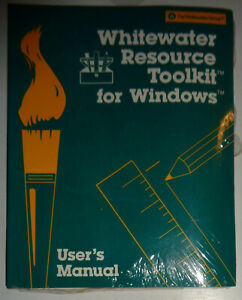 Whitewater-Resource-Toolkit-for-Windows-1990-BRAND-NEW-SEALED