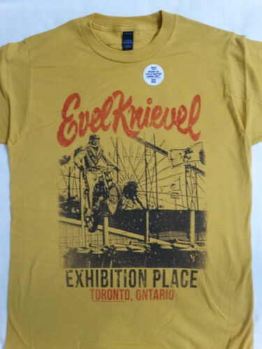 Evel Knievel Daredevil Officially Licensed Motorcycle T-Shirt #2