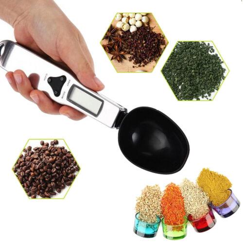 Digital Spoon Scale LCD LAB cuisine alimentaire électronique mesure le poids 0.1 g pour 500 g
