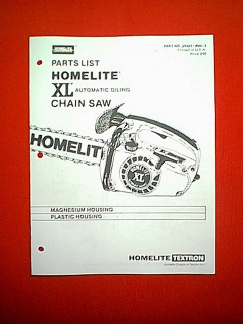Homelite Xl Textron Manual User Guide Manual That Easy To Read