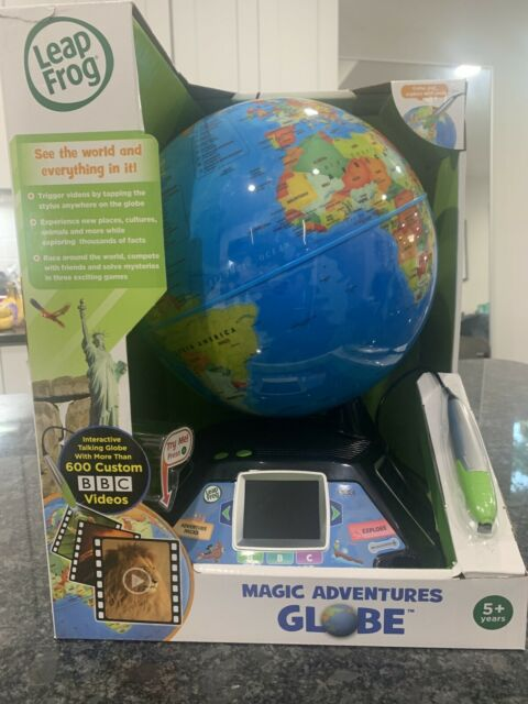 Leap Frog Magic Adventures Globe Interactive Learning ...