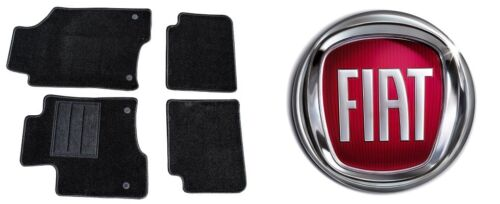 OFFERTA /'12-... Set Completo 1Ricamo Tappeti Tappetini su Misura Fiat Panda