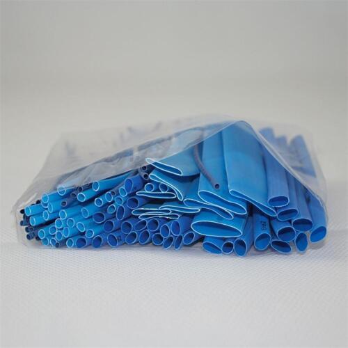 en vrac pièce dans le sachet isolierschlauch-Assortiment 100er set schrumpfschlauch bleu