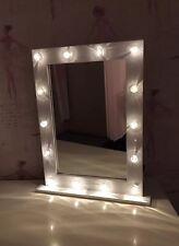Hollywood Vanity Dressing Table Mirror 14 LED Bulb Mirror White Gloss BNIB