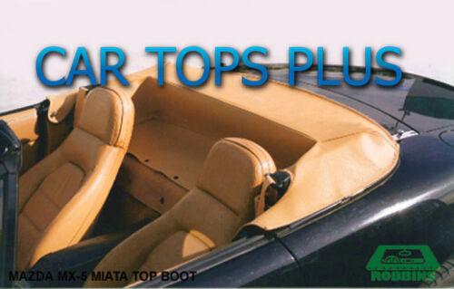 OEM TAN Vinyl 1999-2005 Mazda Miata Convertible Top Boot Cover
