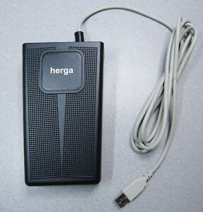 HERGA-6254-HEAVY-DUTY-GENERAL-INDUSTRIAL-FOOTSWITCH-WITH-USB-INTERFACE-NEW